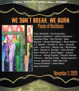 we don't break we burn